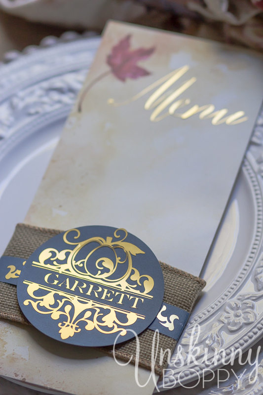 Thanksgiving Tablescape with custom menu placecards-6