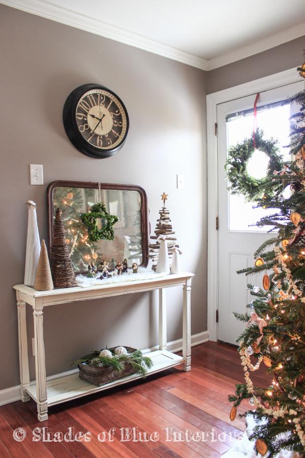 Boxwood star wreath