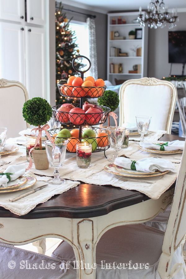Christmas placesettings