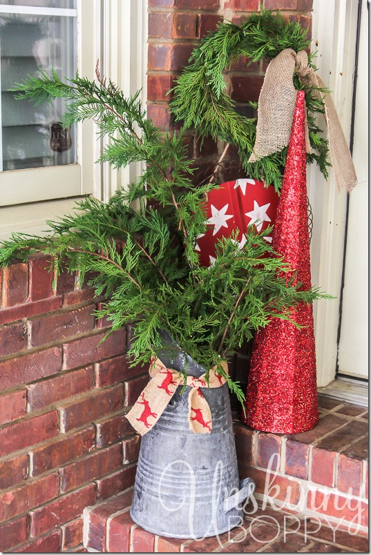 Christmas Porch decorating ideas-15