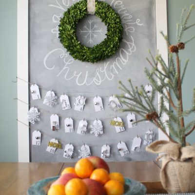 3rd Annual Holiday Home Tours Day 3: {The Turquoise Home}