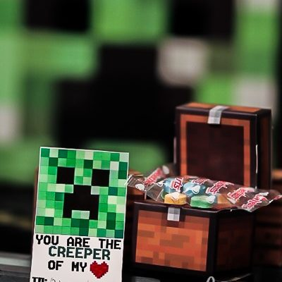 Share the Love: Free Minecraft valentine Printable at C.R.A.F.T