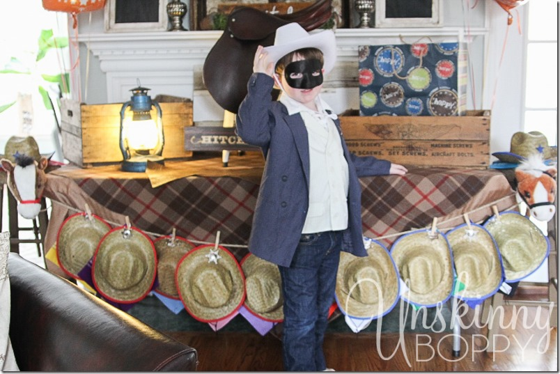 Lone ranger birthday party-25