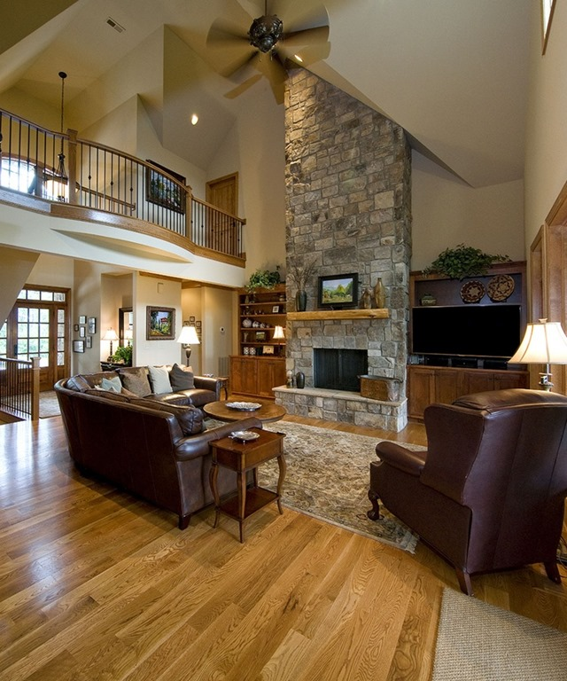 Fireplace wishes and mantel dreams unskinny boppy for Great room designs with fireplace