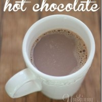 perfect homemade hot chocolate recipe