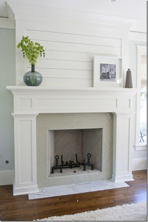 Fireplace wishes and mantel dreams unskinny boppy - Floor to ceiling brick fireplace makeover ...