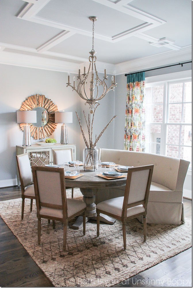 Five home decorating trends from the 2015 parade of homes for Dining room 2014 trends