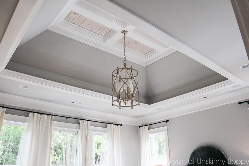 Amazing ceiling details = Birmingham Parade of Homes Decor Ideas
