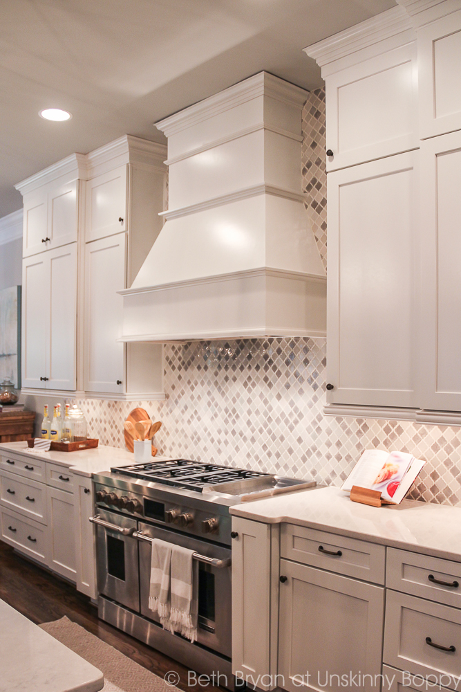 Incredible Kitchen with Jenn-Air range and hood. 2015 Birmingham Parade of Homes built by Murphy Home Builders
