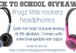 ifrogz Headphone giveaway