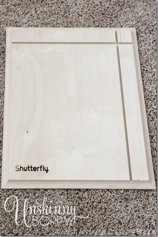 How to make a DIY sign for nursery-12