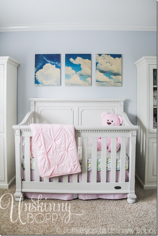 How to make a DIY sign for nursery-22