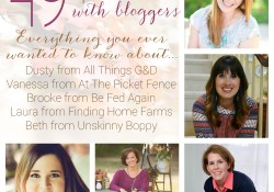 49 questions with bloggers