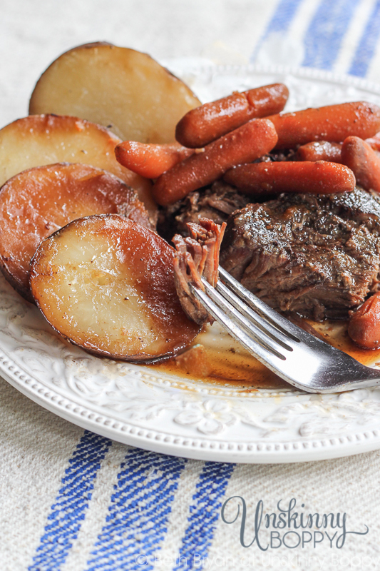 Alabama Pot Roast with potatoes and carrots-2