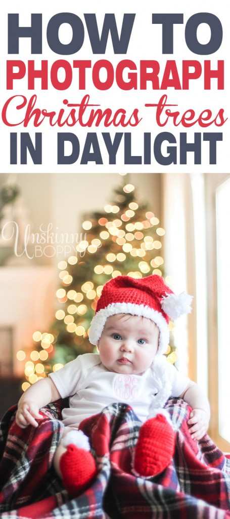 how to photograph christmas lights in daylight