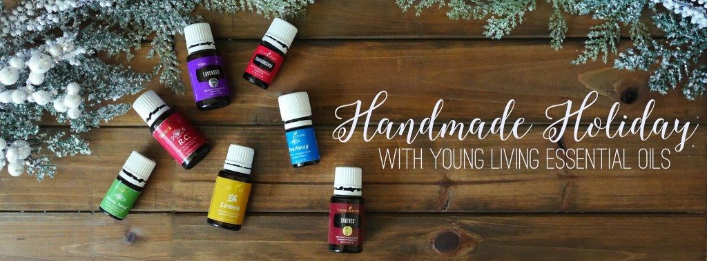 handmade holiday with essential oils