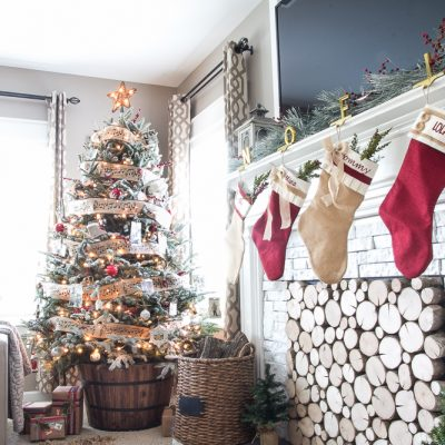 2015 Holiday Home Tours Day 2: Bless'er House