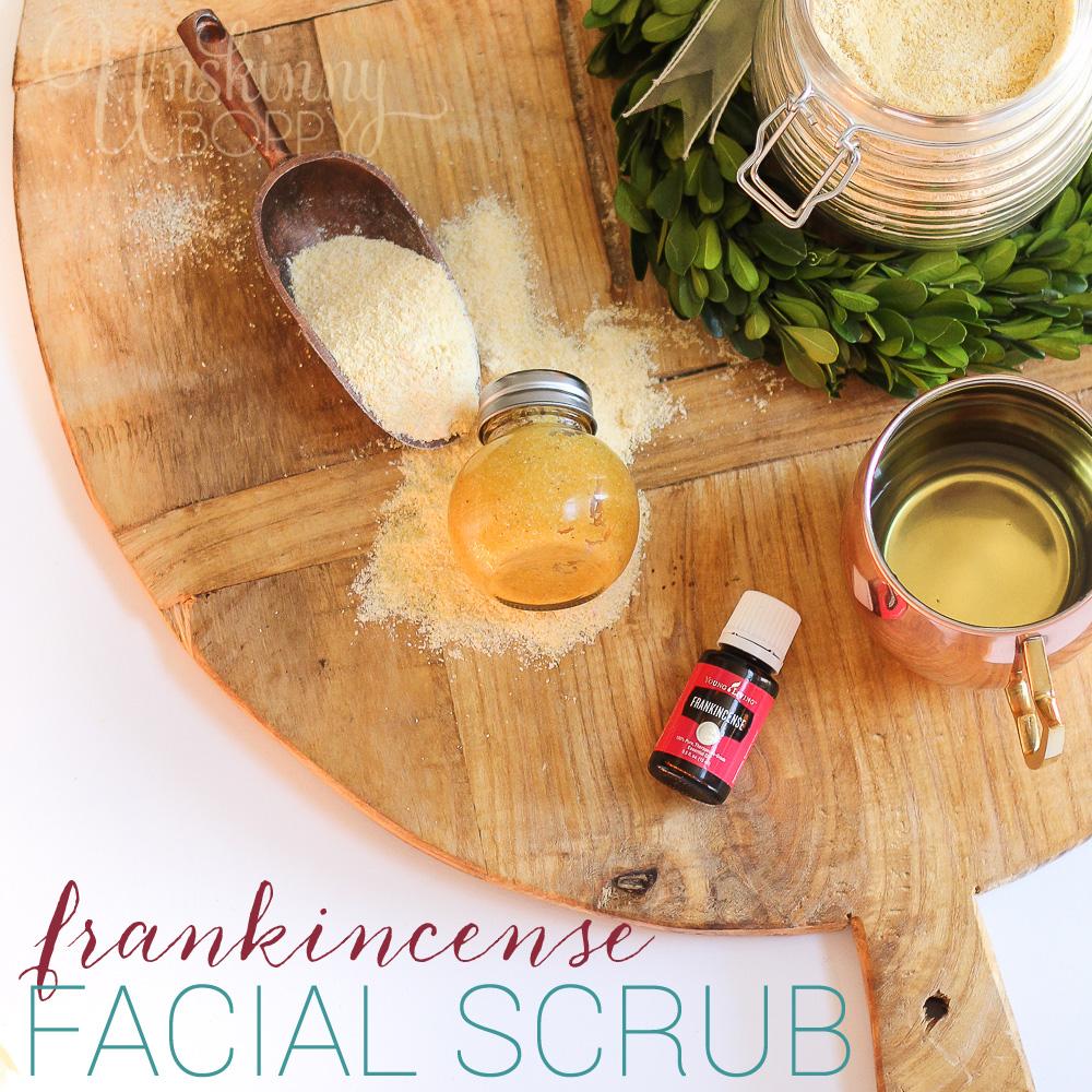 Frankincense Facial Scrub recipe
