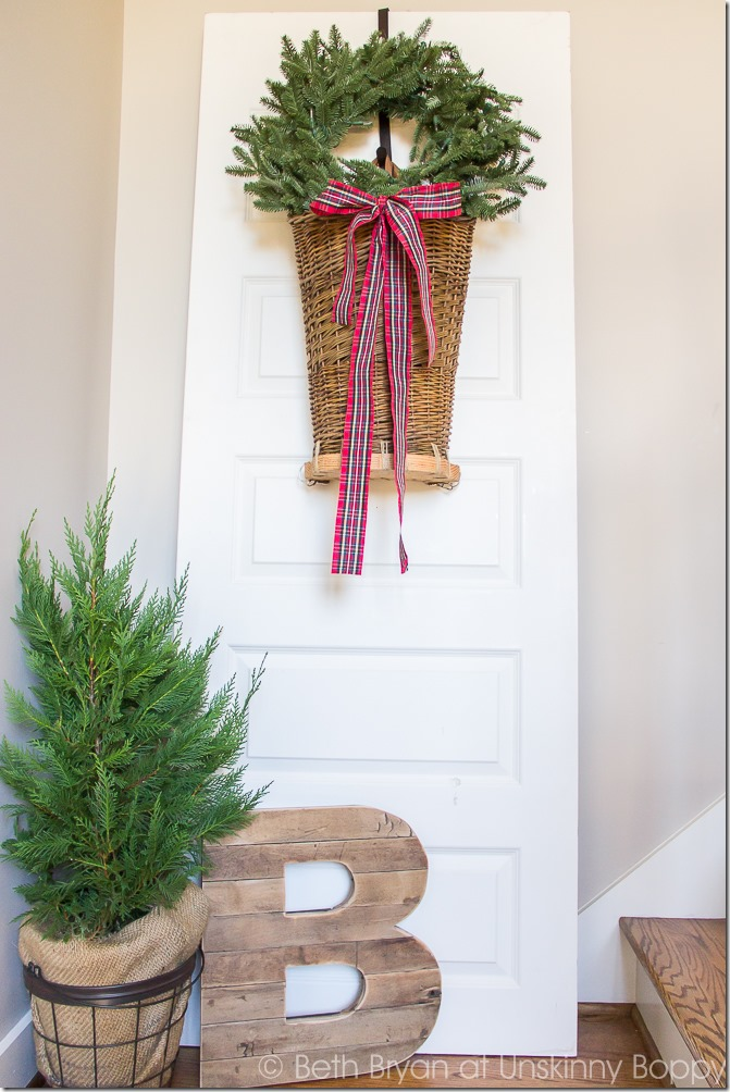 It 39 s time for the holiday housewalk 2015 unskinny boppy for Things to hang on front door