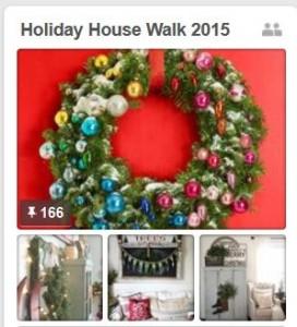 Holiday Housewalk Pinterest board