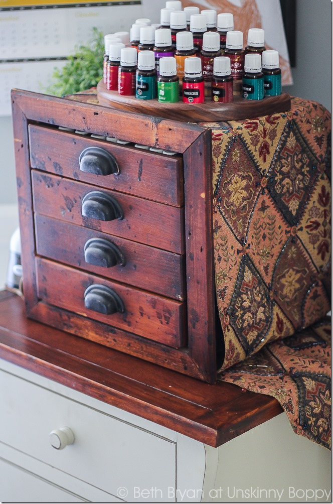 Amazing essential oil holder and cabinet! #yleo