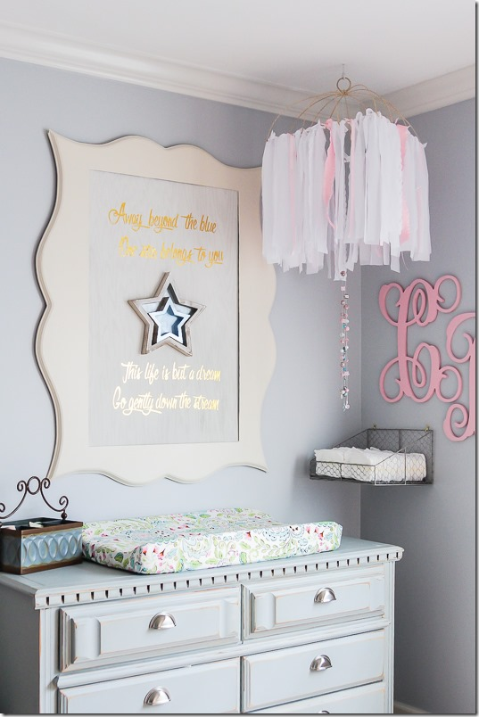 DIY nursery sign stars-7