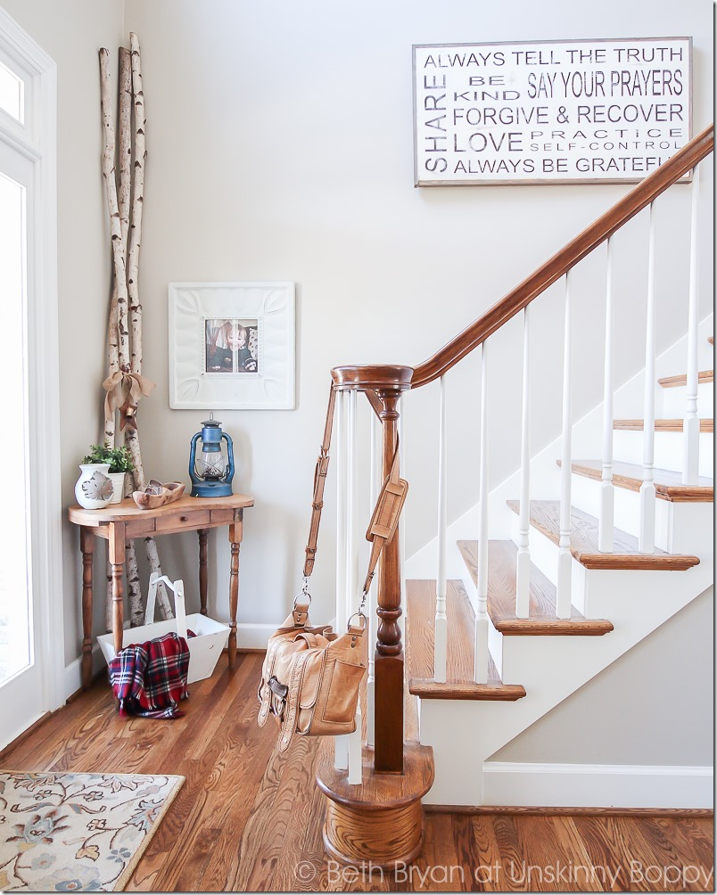 I've seen that sign on Fixer Upper! Those birch logs tho