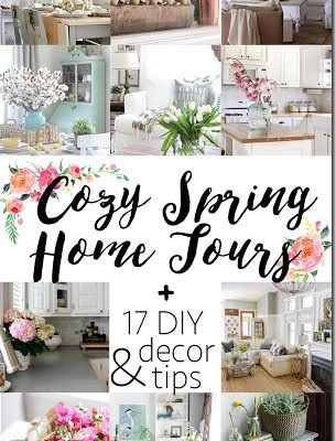 Cozy Spring Home Tour Blog Hop