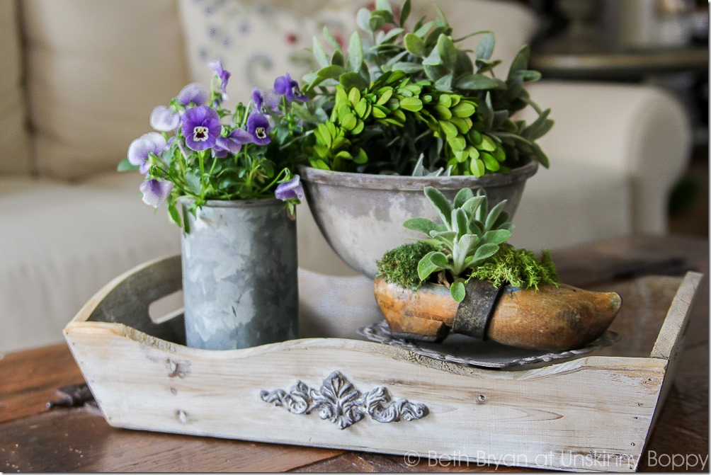 Easy Spring decorating ideas | Cozy Spring Home Tour | www.unskinnyboppy.com