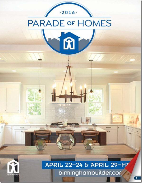 2016 Birmingham Parade of Homes magazine