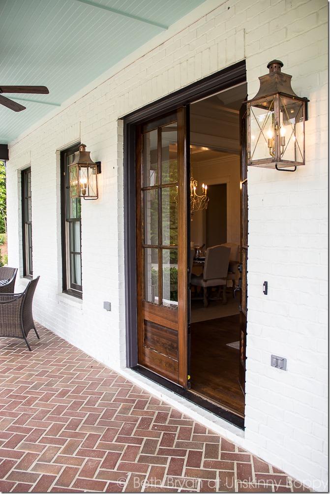 white house bronze windows