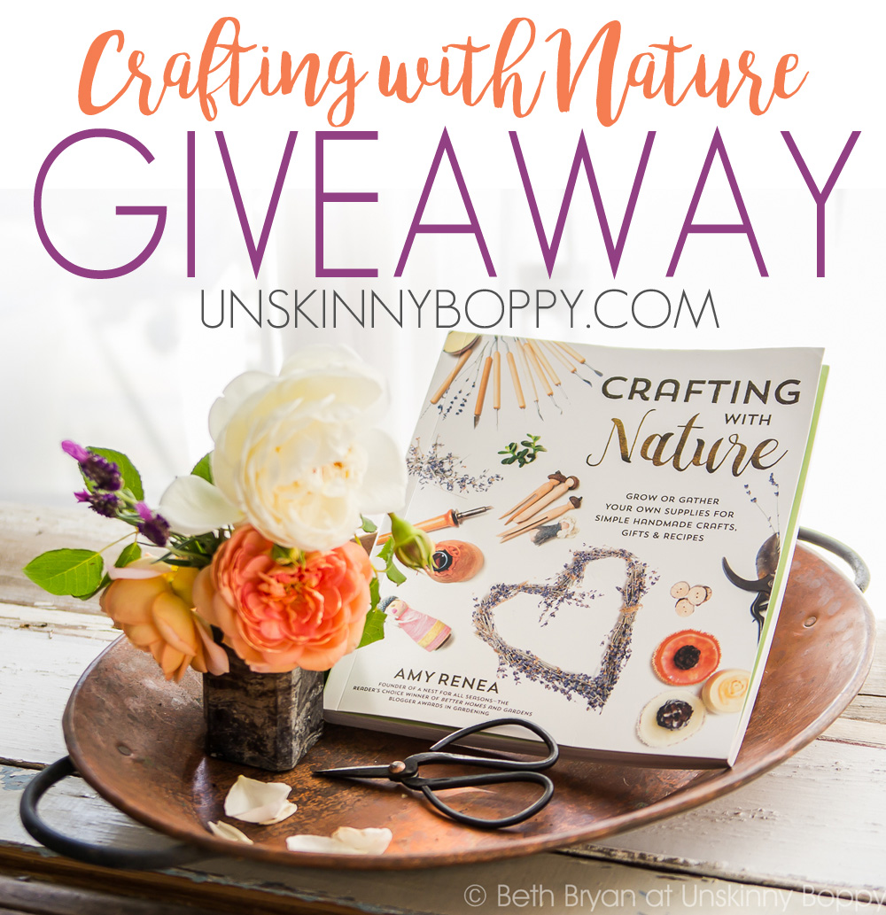 Crafting with Nature Book GIVEAWAY