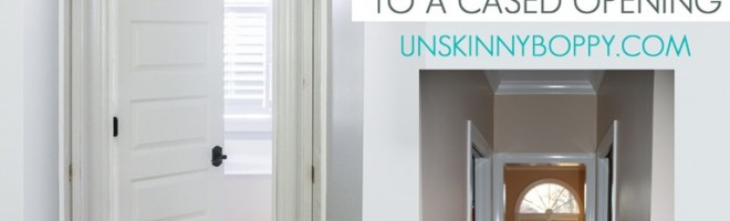 Privacy Please: How To Add a Door To a Cased Opening
