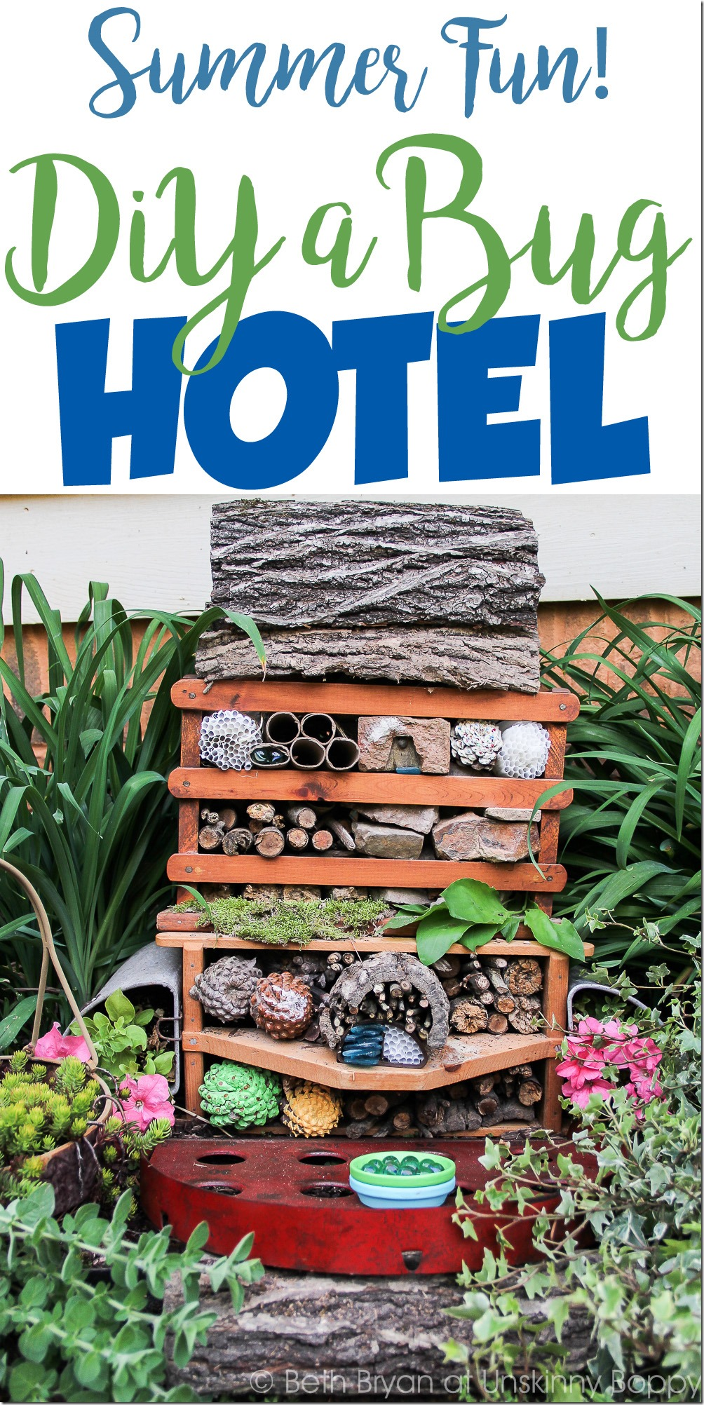How to DIY a Bug Hotel