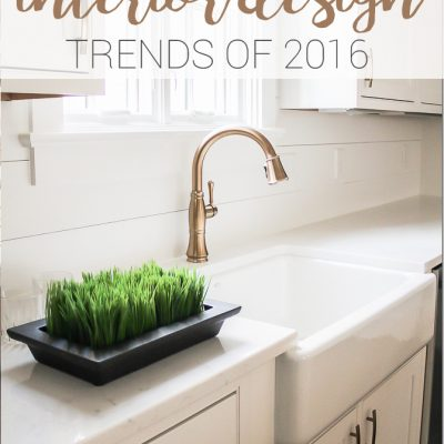 Top Five Trends from the 2016 Parade of Homes