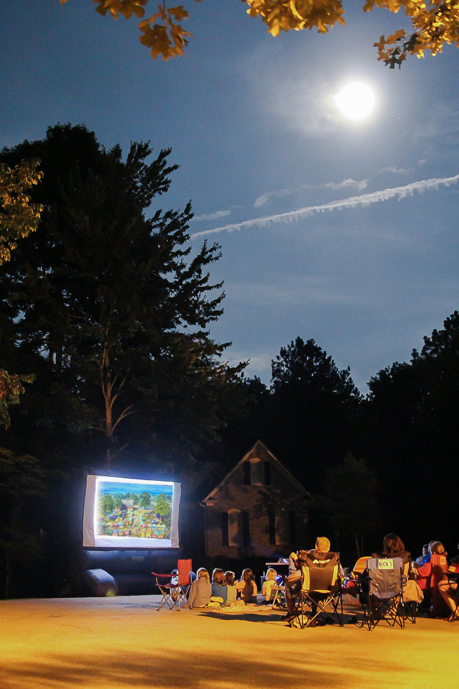 Neighborhood Outdoor Movie Night