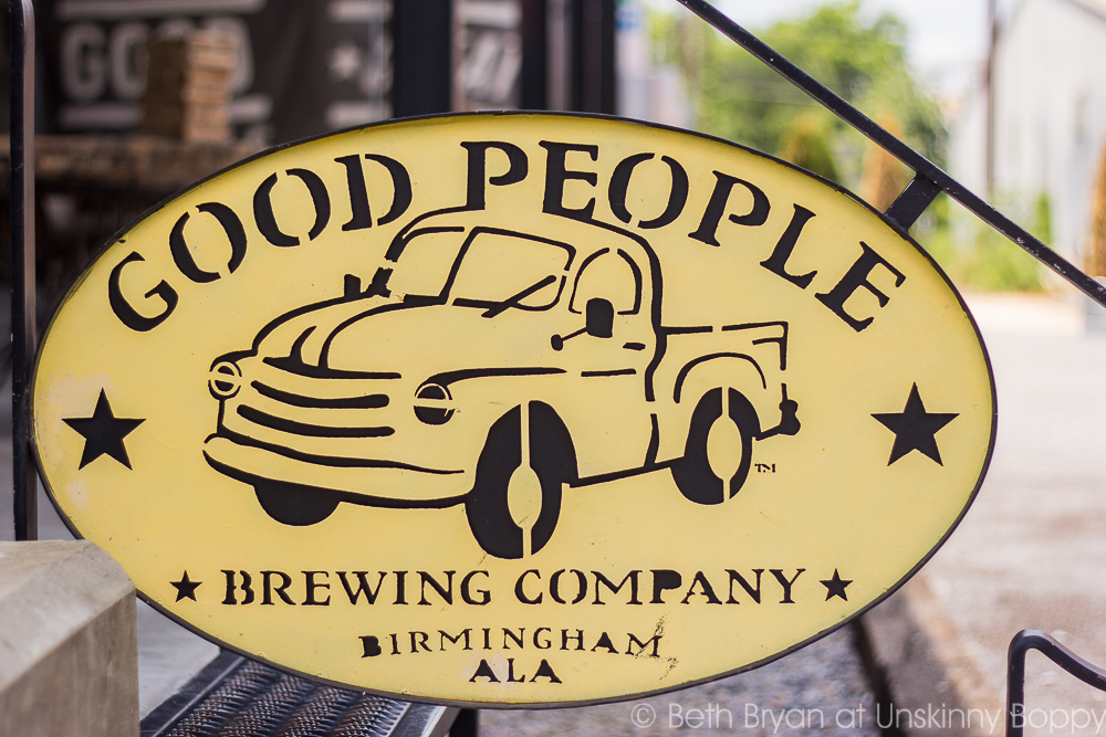 Things to Do in Birmingham, Alabama- Good People Brewing Co. | Photo by Beth Bryan | www.unskinnyboppy.com