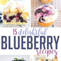 15 Delightful Blueberry Recipes