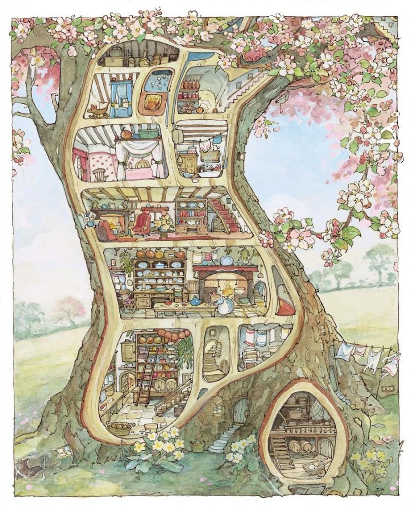 Brambly Hedge Tree House