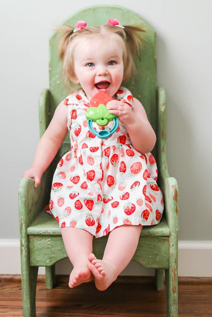 Caroline's First Birthday -Strawberry Themed