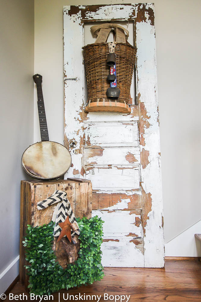 Farmhouse Style Foyer Decorating (6 of 27)
