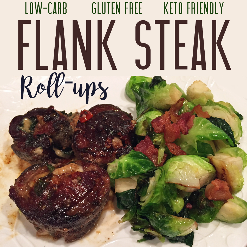 flank steak rollups (pinwheels)