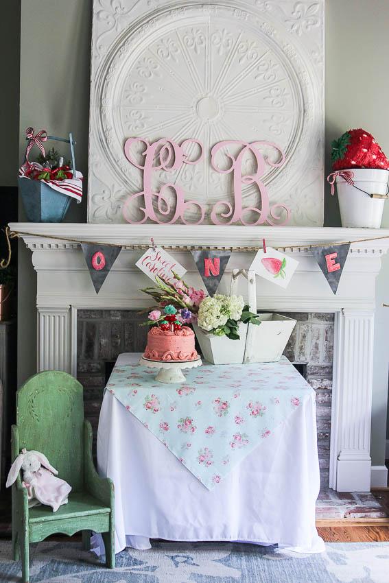 Carolines First Birthday Party-1
