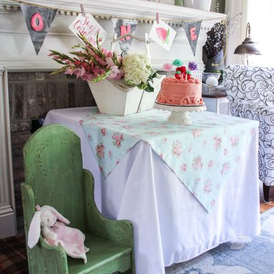 Caroline's Berry Sweet First Birthday Party