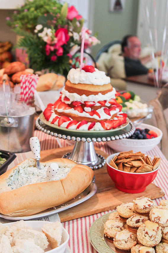 Strawberry Themed Birthday party food-1
