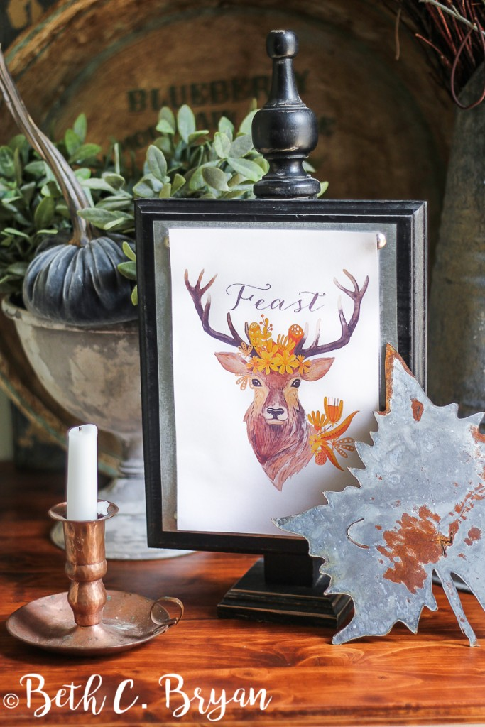 free-printable-flower-crown-buck-deer-4