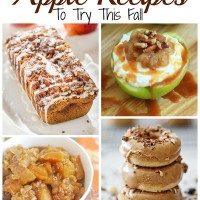 Yummy Apple Recipes to try this Fall!