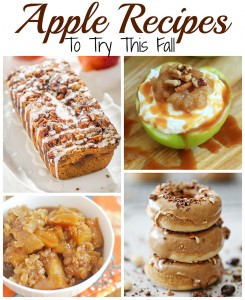 Apple Recipes to try this fall