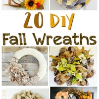 Fall Wreaths to Fancy up your Fantel