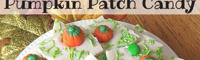 Easy Pumpkin Patch Candy for Halloween